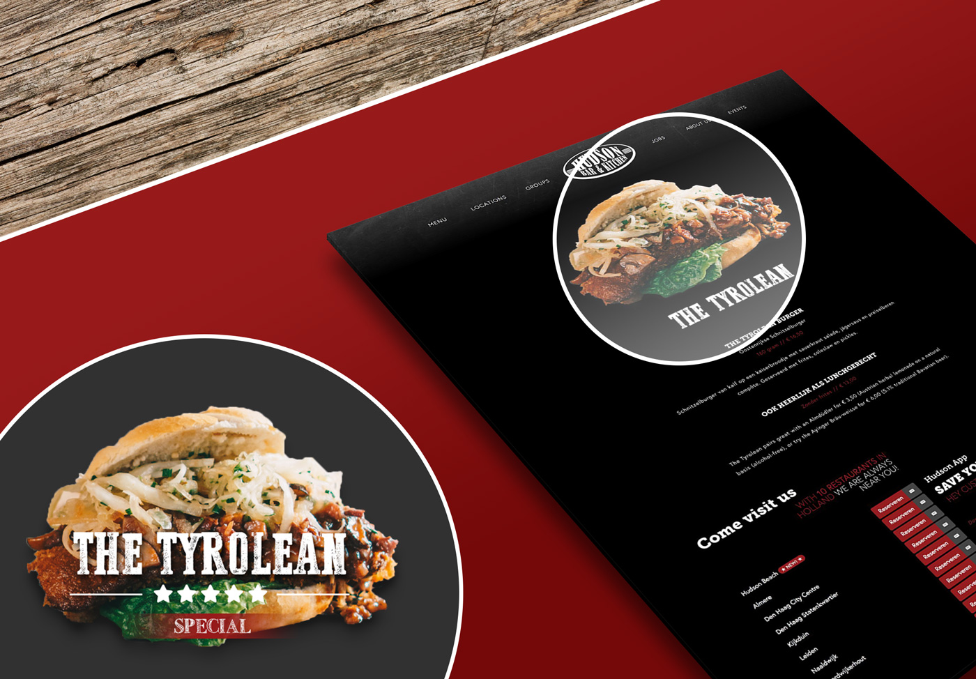 The Tyrolean Special Webdesign